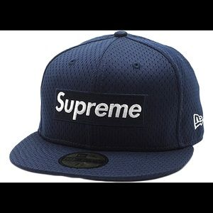 Supreme New Era Limited edition mesh box logo hat